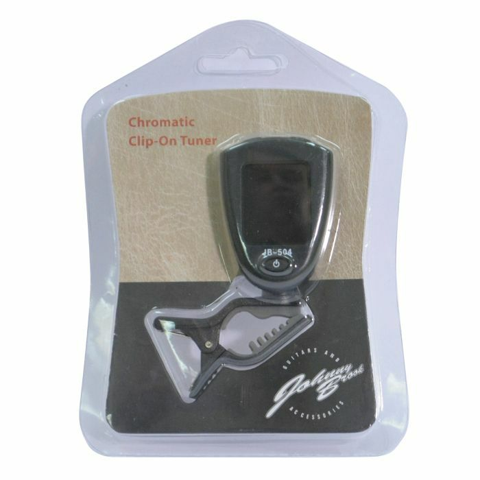 JOHNNY BROOK - Johnny Brook Chromatic Clip On Tuner