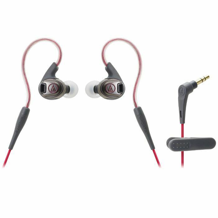 AUDIO TECHNICA - Audio Technica SPORT3 Sonic Sport Earphones (red & black)
