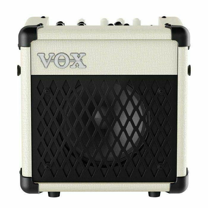 vox vox mini 5 rhythm modelling guitar amplifier ivory vinyl at juno records. Black Bedroom Furniture Sets. Home Design Ideas