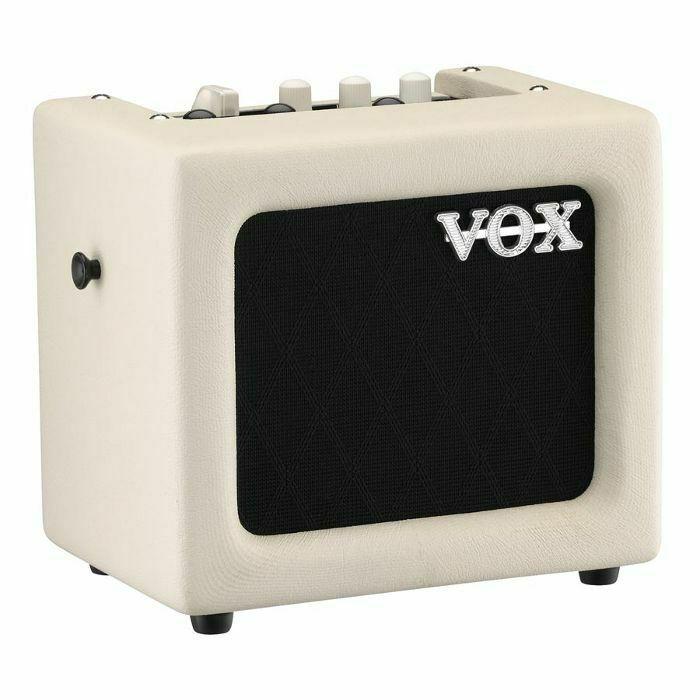 vox vox mini 3 g2 portable modelling guitar amp ivory vinyl at juno records. Black Bedroom Furniture Sets. Home Design Ideas