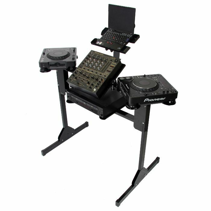 SEFOUR - Sefour X25 CD DJ Stand Workstation (black)