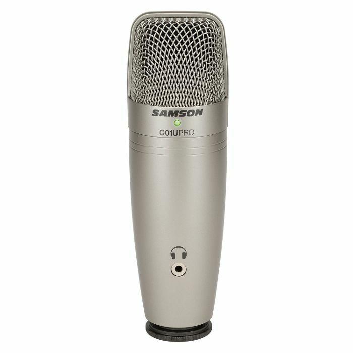 SAMSON - Samson C01U Pro USB Studio Condenser Microphone