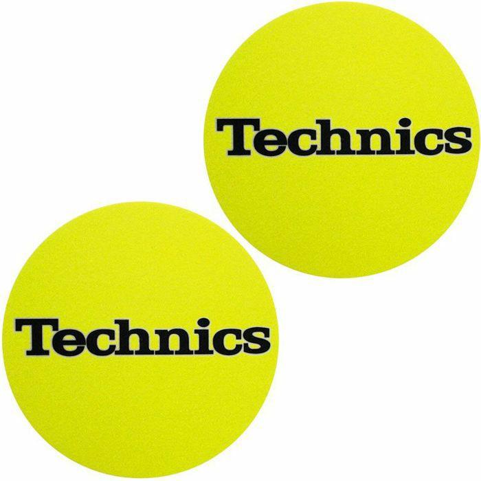 SLIPMAT FACTORY - Slipmat Factory Technics Slipmats (pair, bright yellow)