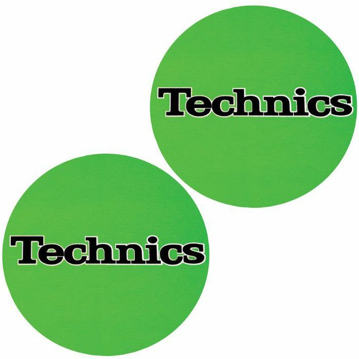 SLIPMAT FACTORY - Slipmat Factory Technics Slipmats (pair, green)