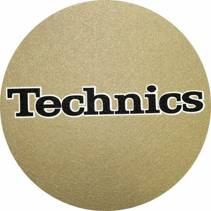 SLIPMAT FACTORY - Slipmat Factory Technics Slipmats (pair, metallic gold)