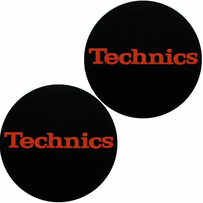 SLIPMAT FACTORY - Slipmat Factory Technics Slipmats (pair, red/black)