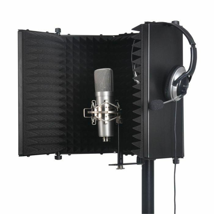 SOUND LAB - Sound LAB Studio Microphone Reflexion Screen (black)