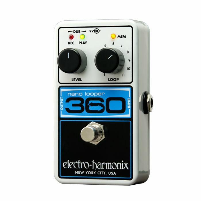 ELECTRO HARMONIX - Electro Harmonix Nano Looper 360 Pedal