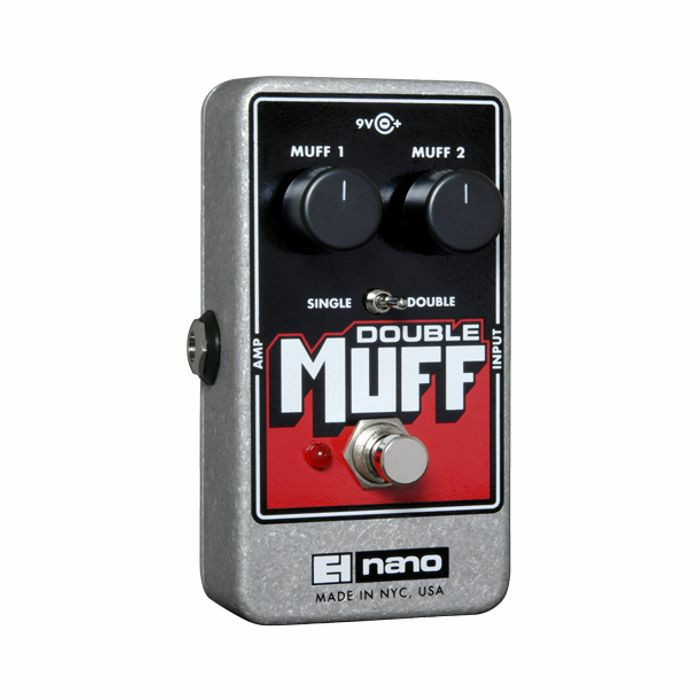 ELECTRO HARMONIX - Electro Harmonix Double Muff Fuzz Overdrive Pedal