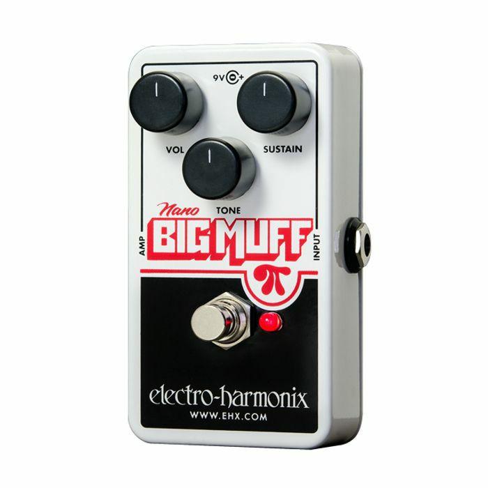 ELECTRO HARMONIX - Electro Harmonix Nano Big Muff Pi Distortion Fuzz Overdrive Pedal