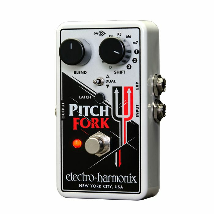 ELECTRO HARMONIX - Electro Harmonix Pitch Fork Polyphonic Pitch Shifter Pedal
