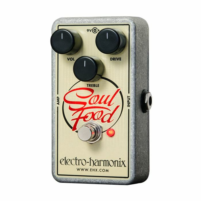 ELECTRO HARMONIX - Electro Harmonix Soul Food Distortion Fuzz Overdrive Pedal