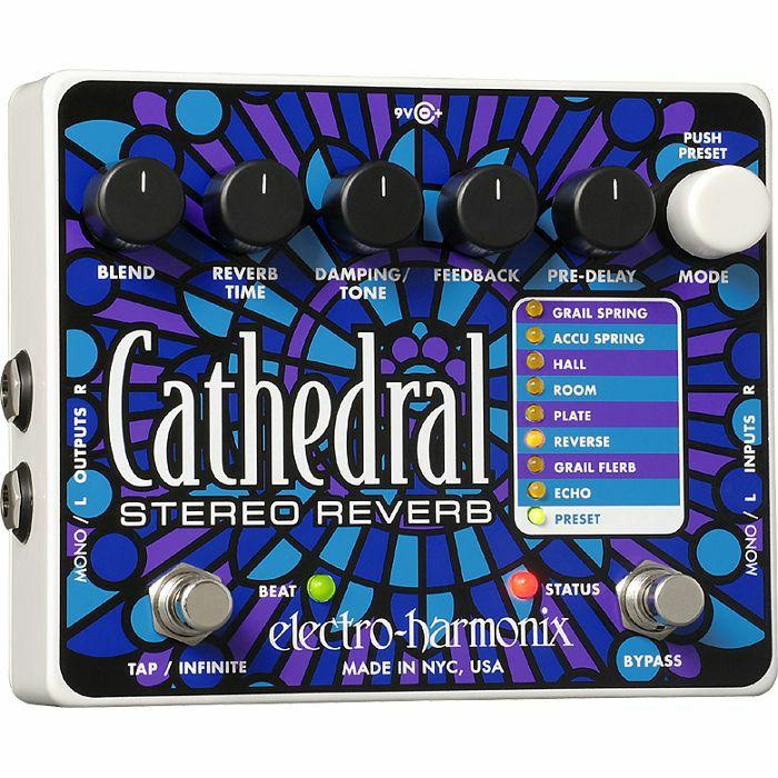 ELECTRO HARMONIX - Electro Harmonix Cathedral Stereo Reverb Pedal