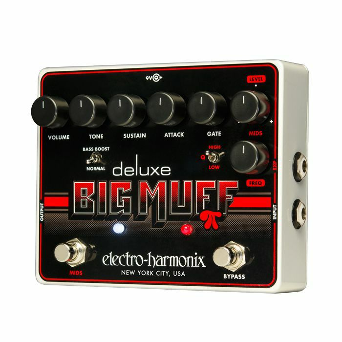 ELECTRO HARMONIX - Electro Harmonix Deluxe Big Muff Pi Distortion Sustainer Pedal