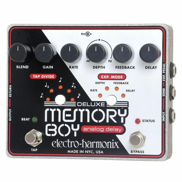 ELECTRO HARMONIX - Electro Harmonix Deluxe Memory Boy Analog Delay Pedal