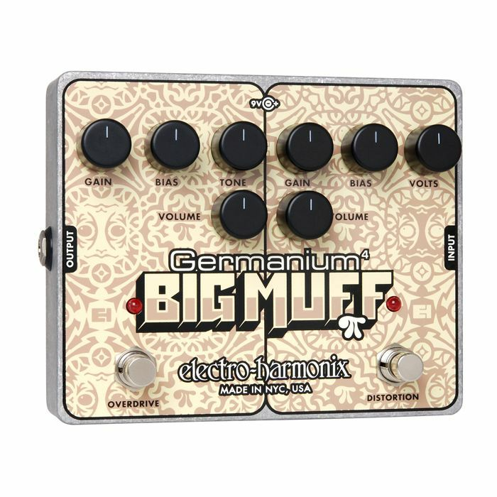 ELECTRO HARMONIX - Electro Harmonix Germanium 4 Big Muff Pi Distortion Overdrive Pedal