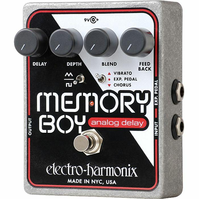 ELECTRO HARMONIX - Electro Harmonix Memory Boy Analog Delay With Chorus Vibrato Pedal