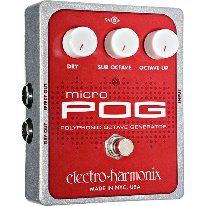 ELECTRO HARMONIX - Electro Harmonix Micro POG Polyphonic Octave Generator Pedal