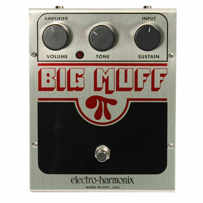 ELECTRO HARMONIX - Electro Harmonix Big Muff Pi Distortion Sustainer Pedal