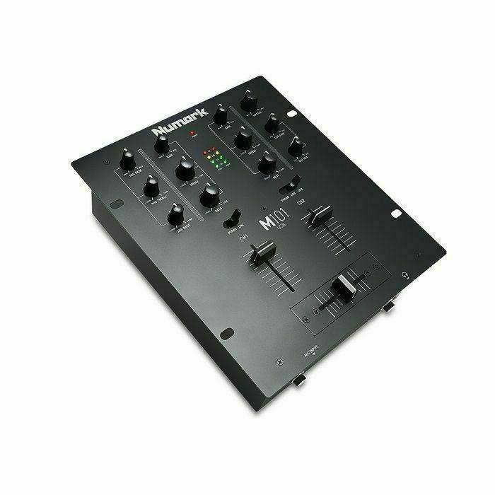 NUMARK - Numark M101 USB 2 Channel DJ Mixer (black)