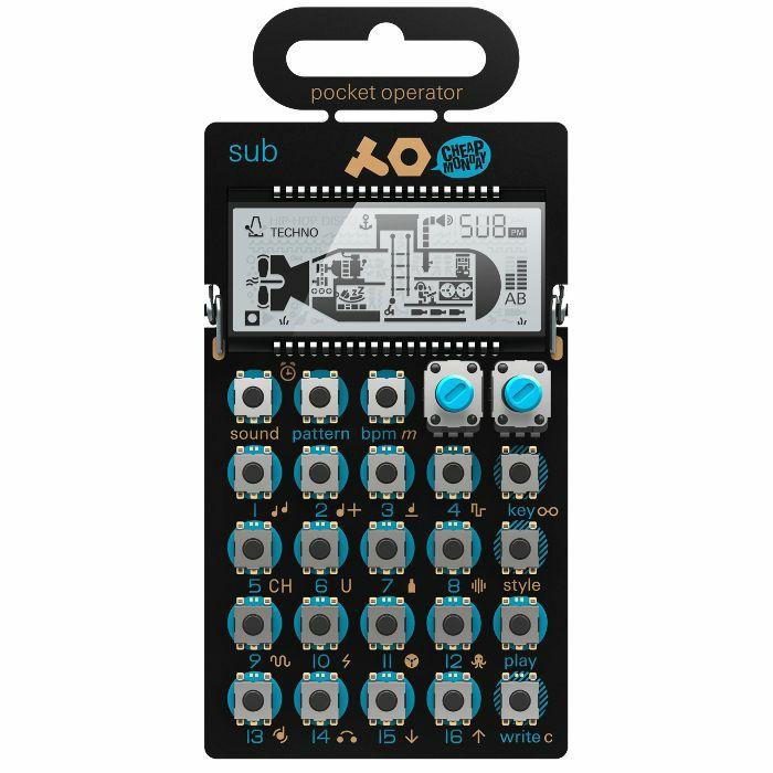 TEENAGE ENGINEERING/CHEAP MONDAY - Teenage Engineering/Cheap Monday PO14 Pocket Operator Sub Synthesizer