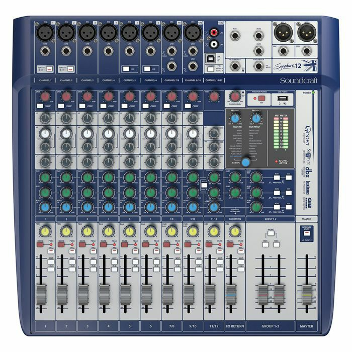 SOUNDCRAFT - Soundcraft Signature 12 Analogue Mixer With Onboard Effects