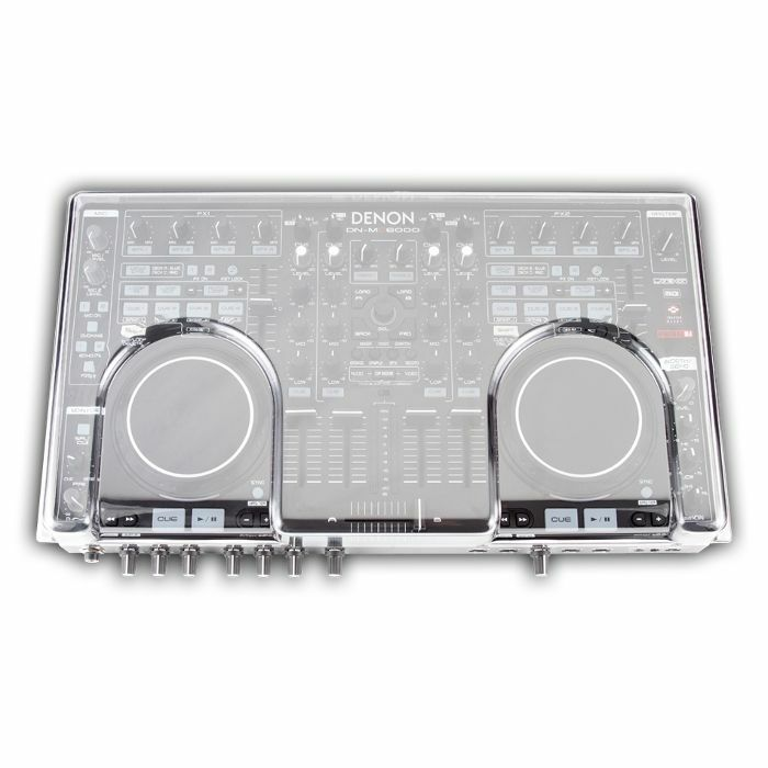 DECKSAVER - Decksaver Denon MC6000 Mk2 Cover (smoked clear)