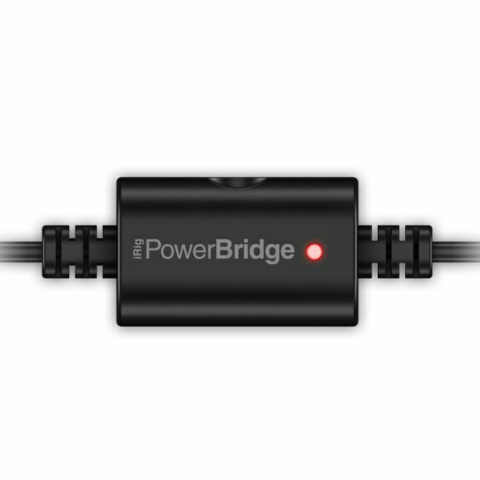 IK MULTIMEDIA - IK Multimedia iRig Power Bridge Lightning Charger For iPhone/iPad With iRig Devices (includes lightning cable)