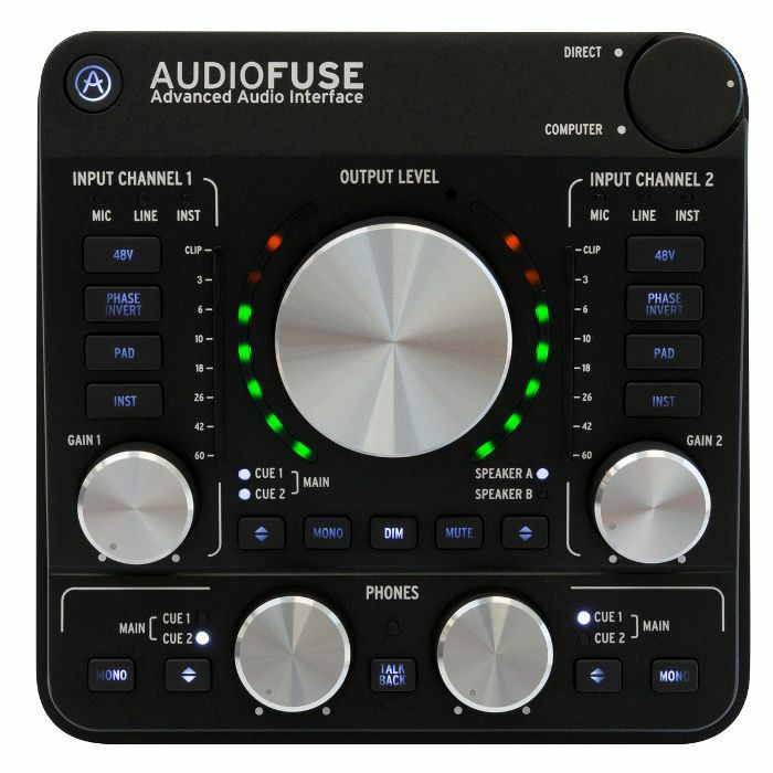 ARTURIA - Arturia AudioFuse Audio Interface (deep black)