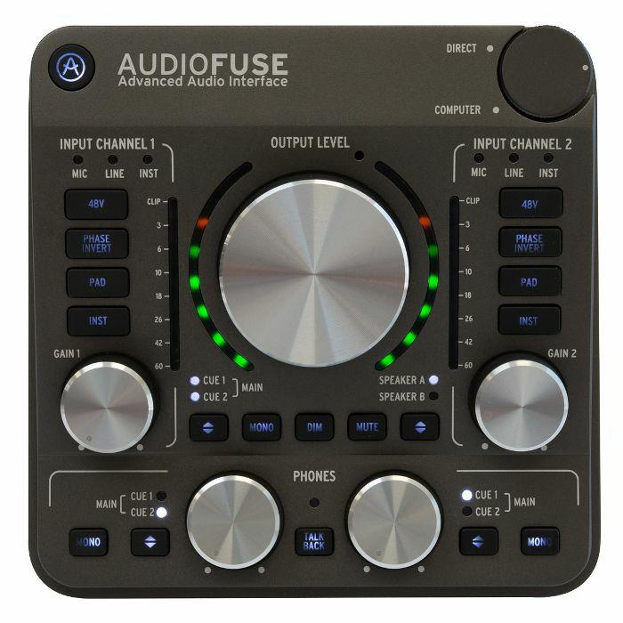 ARTURIA - Arturia AudioFuse Audio Interface (space grey)