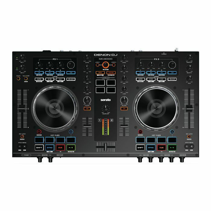 DENON DJ - Denon DJ MC4000 Serato DJ Controller With Serato DJ Intro Software