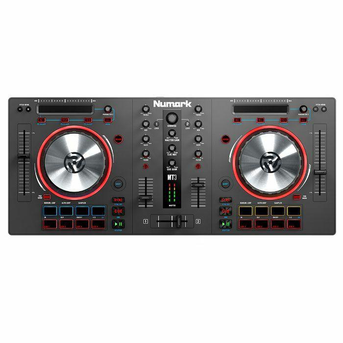 Numark Mixtrack 3 DJ Controller With Virtual DJ Software