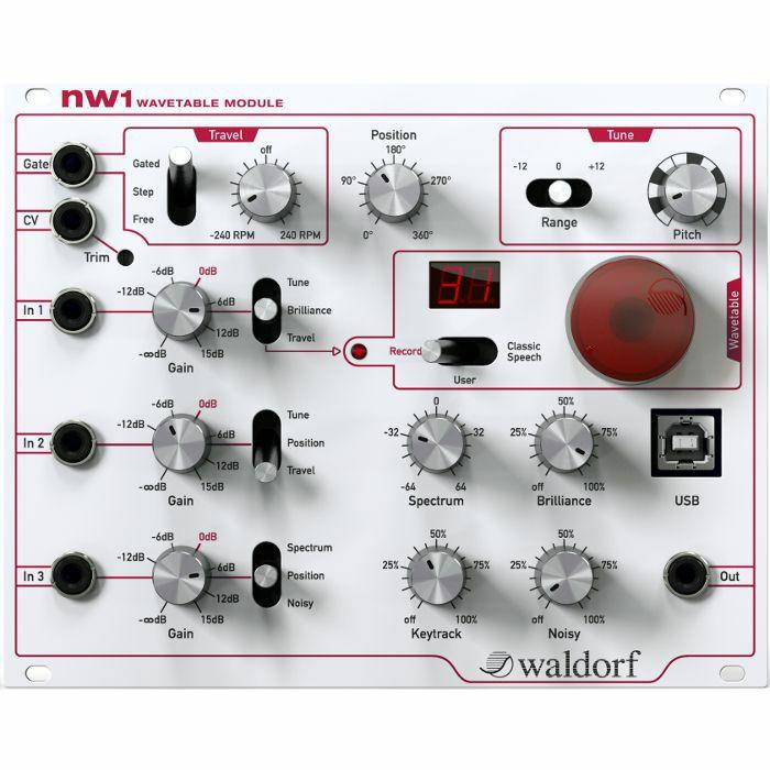 WALDORF - Waldorf NW1 Wavetable Eurorack Synth Module
