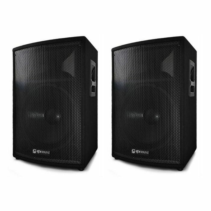 QTX - QTX QT8 PA Speaker Box (pair, 150W each)