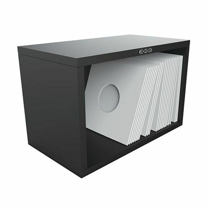 ZOMO - Zomo VSBox 7 Inch 45 Vinyl Record Storage Box 100 (black, flat-packed)