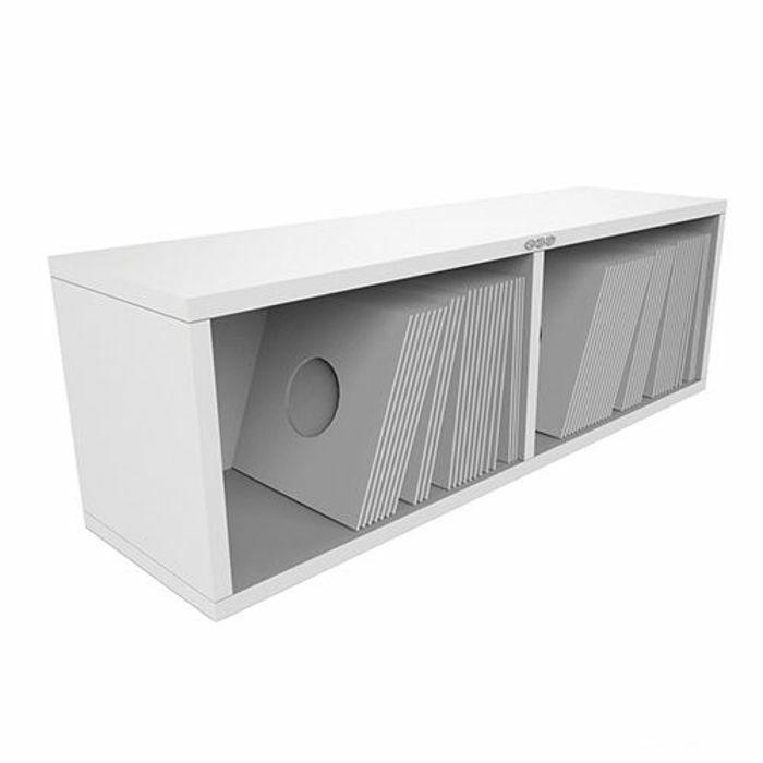 ZOMO - Zomo VSBox 7 Inch 45 Vinyl Record Storage Box 200 (white, flat-packed)