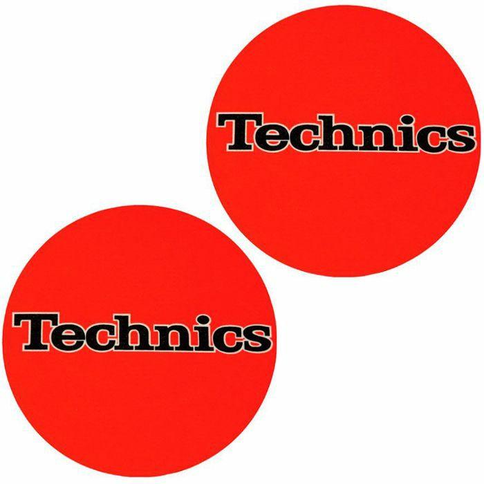 SLIPMAT FACTORY - Slipmat Factory Technics Logo Slipmats (pair, orange)