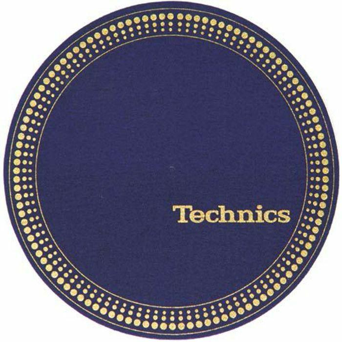 SLIPMAT FACTORY - Slipmat Factory Technics Strobe Slipmats (pair, blue/gold)
