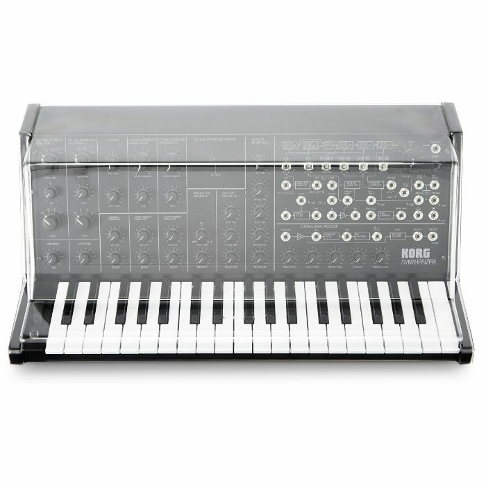 DECKSAVER - Decksaver Korg MS20 Mini Cover (smoked clear)