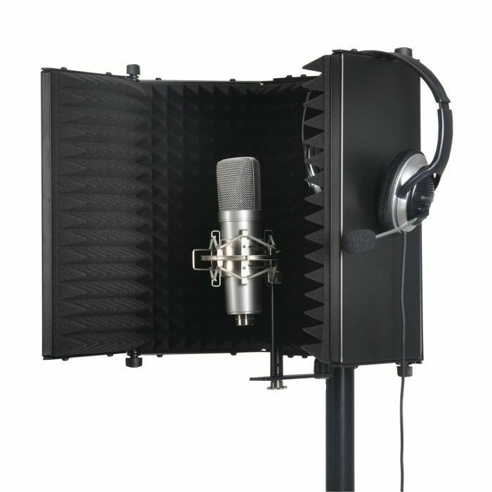 SOUND LAB - Sound LAB Studio Microphone Reflexion Screen (black) (B-STOCK)
