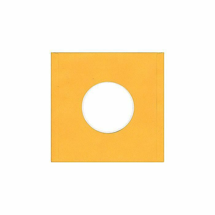 BAGS UNLIMITED - Bags Unlimited 7'' Yellow Paper Record Sleeves (pack of 25)