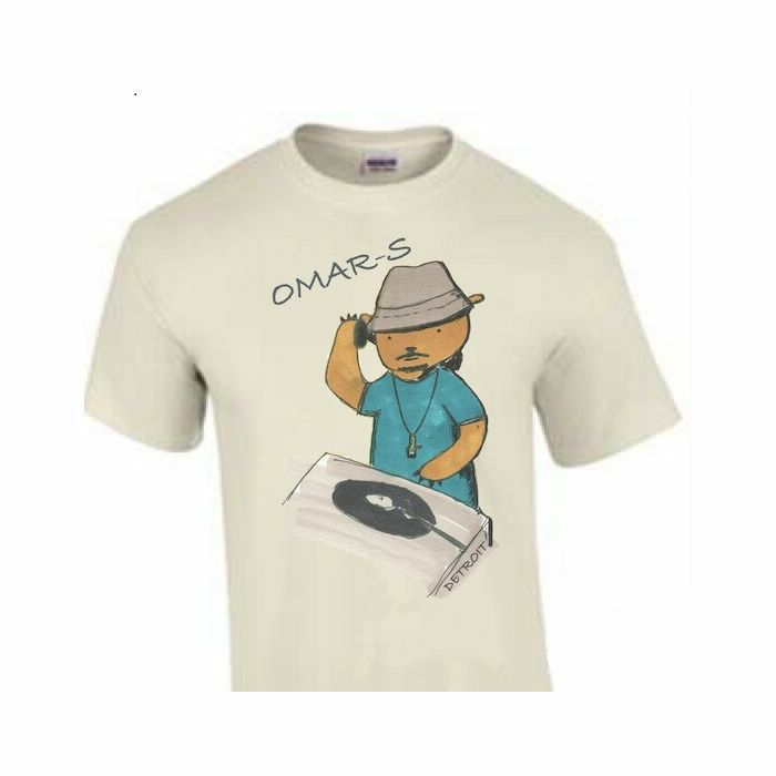 OMAR S - Omar S Bear T-Shirt (unbleached, large)
