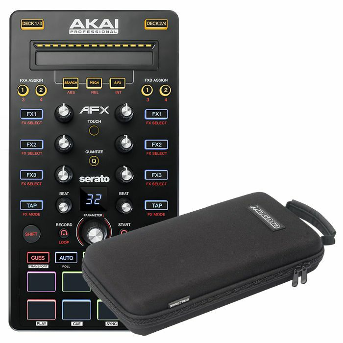 AKAI/MAGMA - Akai AFX DJ Controller + Magma CTRL Case AFX DJ Controller Case (REDUCED PRICE BUNDLE)
