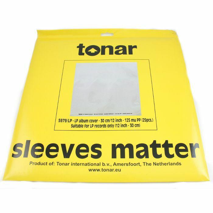 Tonar Tonar 12 Lp Record Outer Sleeves Pack Of 25 Vinyl