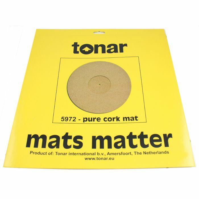 TONAR - Tonar Pure Cork Turntable Mat (295mm diameter)