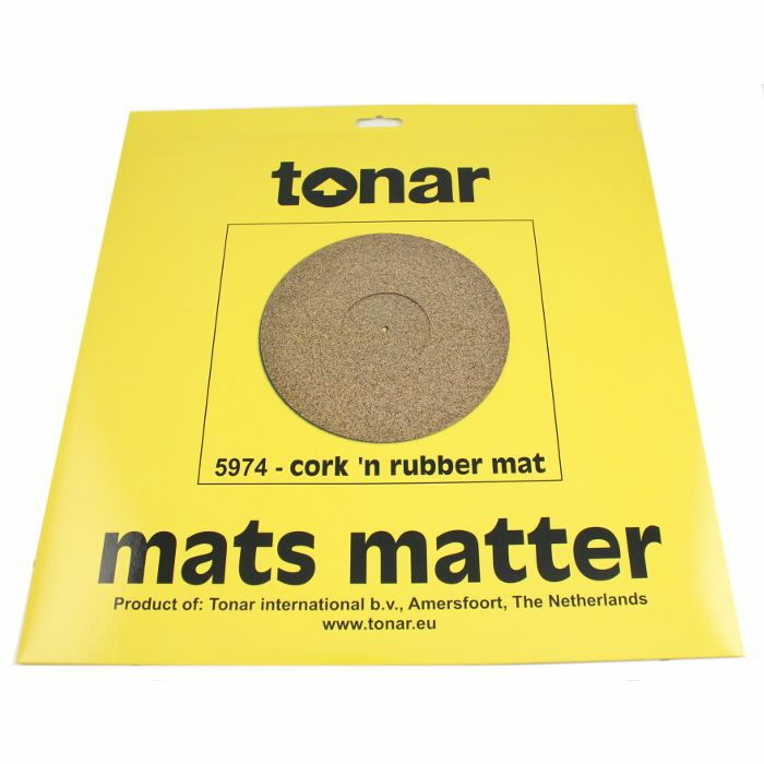 TONAR - Tonar Cork & Rubber Turntable Mat (295mm diameter)