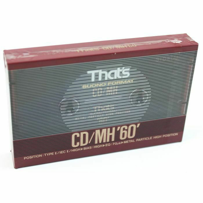 THATS - Thats CDMH C60 Blank Compact Metal Cassette Tape