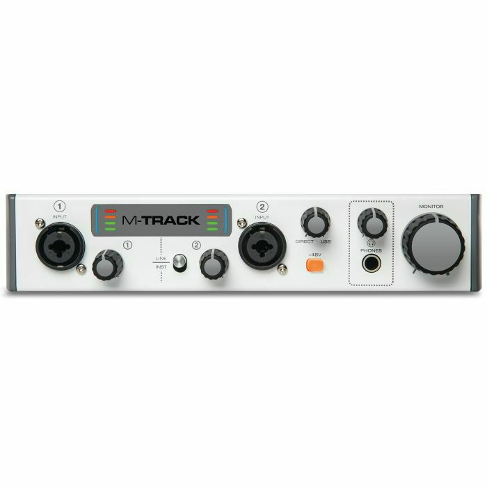 M Audio M Track Mk2 USB Audio Interface With Ableton Live Lite & Waves  Audio Plugin Bundle (B-STOCK)