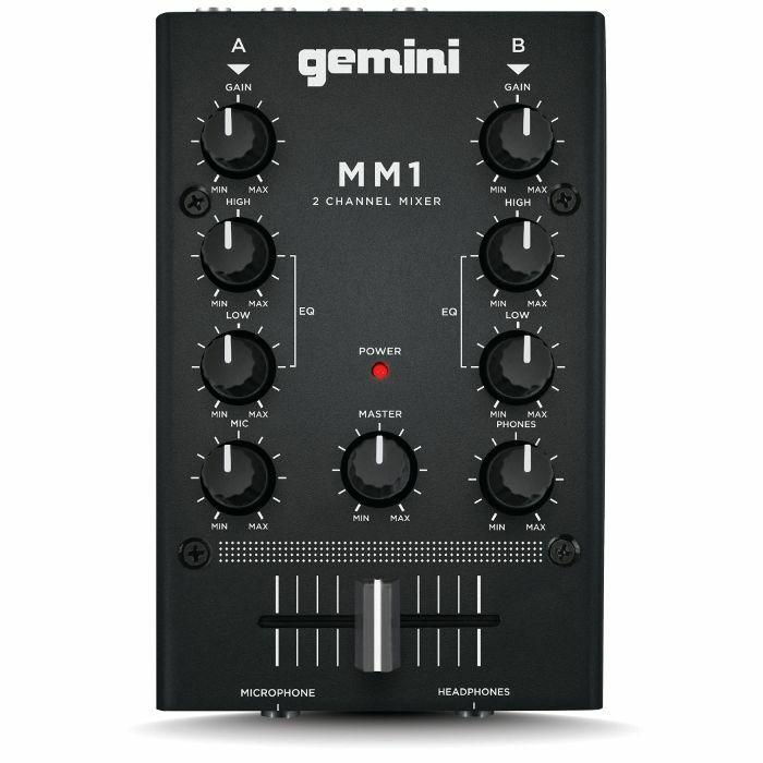 GEMINI - Gemini MM1 2 Channel Compact DJ Mixer