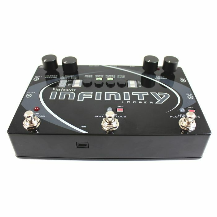 PIGTRONIX - Pigtronix Infinity Looper Stereo Performance Looper Pedal